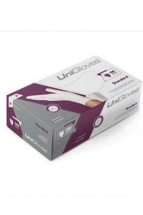 caixa luva de latex para procedimento unigloves com 100 unidades