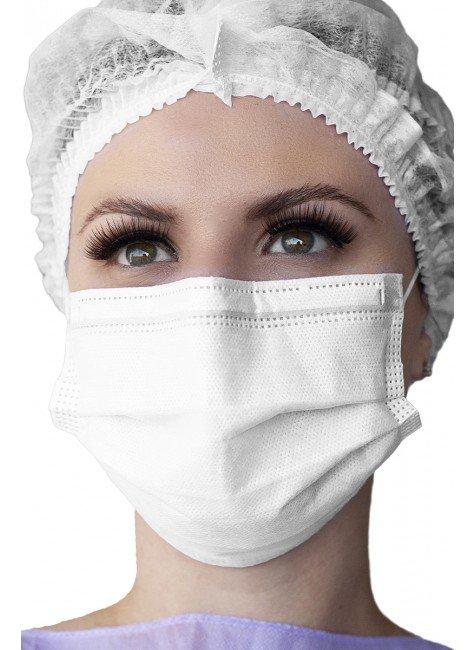 mascara cirurgica descartavel branca destak com 50 unidades copiar