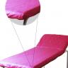 lencol descartavel pink destak com elastico tnt 40g com 5 unidades