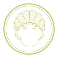 icon touca