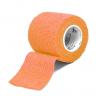 bandagem elastica antiderrapante laranja 5x4 5 mt unidade