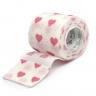 bandagem elastica antiderrapante coracao rosa 5x4 5 mt unidade