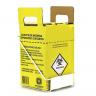 suporte para caixa coletora de material perfuro cortante 7 litros unidade 1