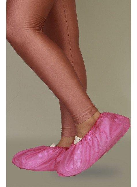 2 sapatilha prope descartavel pink destak com 50 unidades