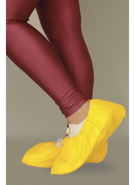 2 sapatilha prope descartavel amarelo destak com 50 unidades
