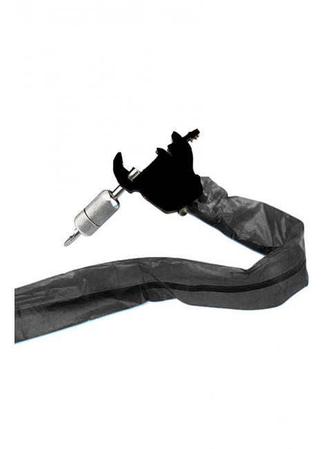 protetor para fio clip cord dermografo preto com 50 unidades 1