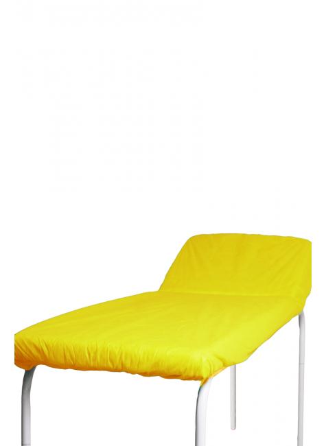 pct lencol descartavel amarelo destak com elastico tnt 40g com 5 unidades
