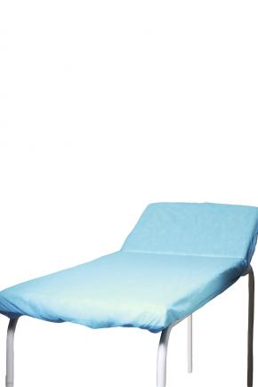 pct lencol descartavel azul destak com elastico tnt 40g com 5 unidades