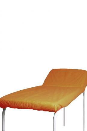 pct lencol descartavel laranja destak com elastico tnt 40g com 5 unidades