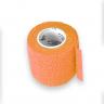 2 bandagem elastica antiderrapante laranja 5x4 5 mt unidade