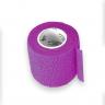 2 bandagem elastica antiderrapante roxa 5x4 5 mt unidade