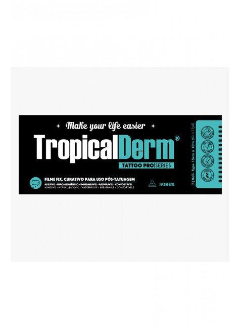 tropicalderm filme plus transparente rolo 15x10 cm
