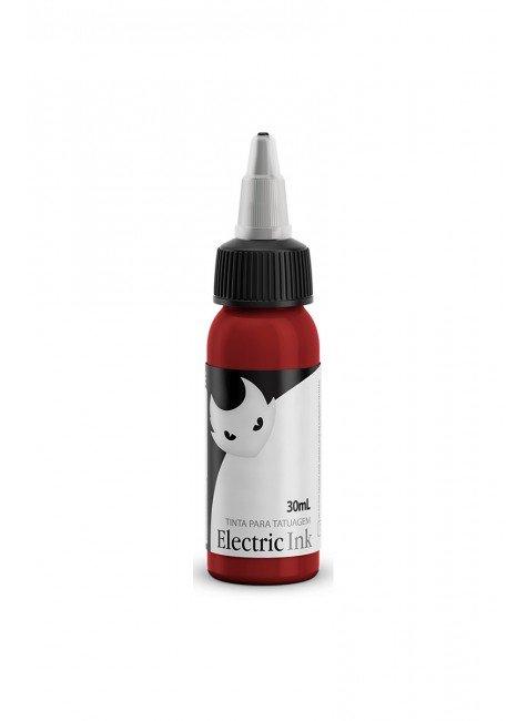 tinta para tatuagem vermelho bombeiro electric ink 30 ml 1