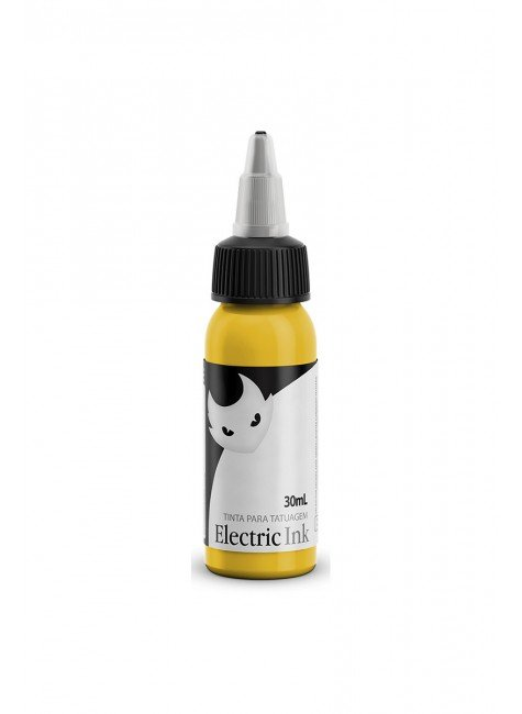 tinta para tatuagem amarelo canario 2 electric ink 30 ml 2