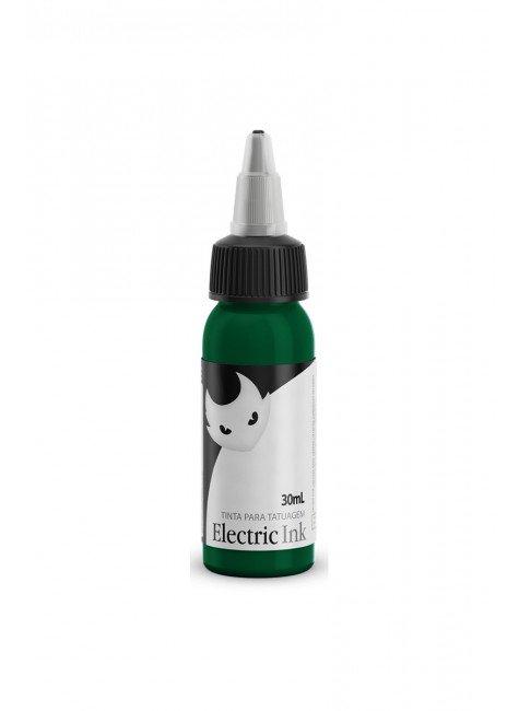 tinta para tatuagem verde bandeira electric ink 30 ml 2