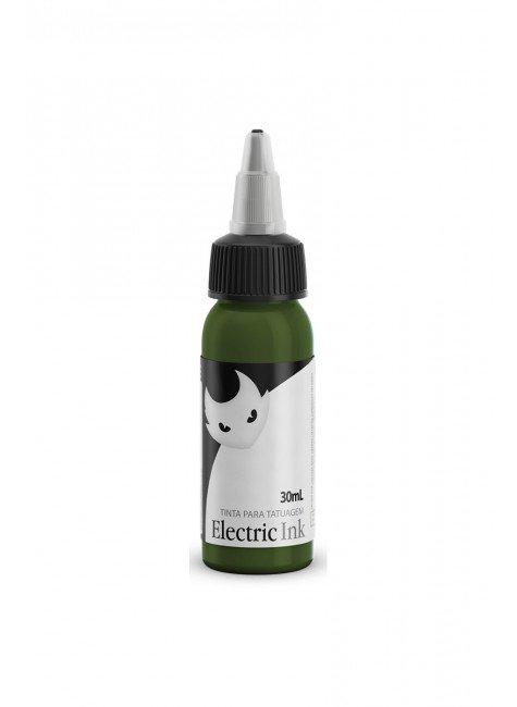 tinta para tatuagem verde musgo electric ink 30 ml 2