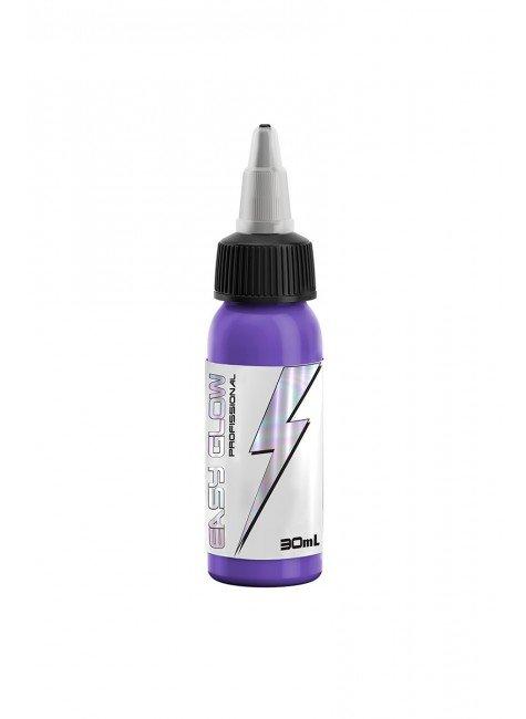 tinta para tatuagem electric purple easy glow 30 ml 1