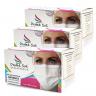kit 3 mascara cirurgica descartavel branca destak com 50 unidades copiar