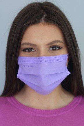 mascara descartavel lilas com elastico color destak com 50 unidades 3 copiar