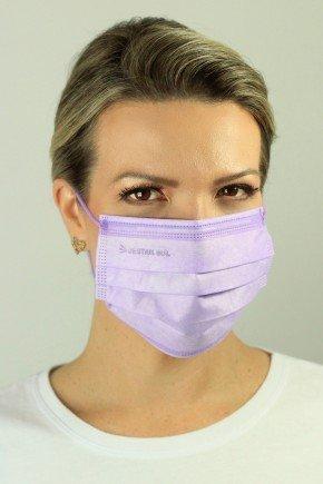 mascara cirurgica descartavel lilas com elastico color destak com 50 unidades 5 copiar