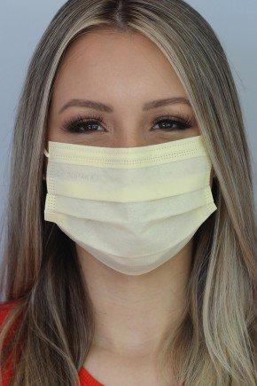 mascara descartavel nude com elastico color destak com 50 unidades 7